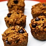 Oatmeal Dark Chocolate Chip Pumpkin Muffins