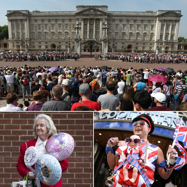 Whoa, Baby: Crowds Flood London to Wait For Royal Baby News