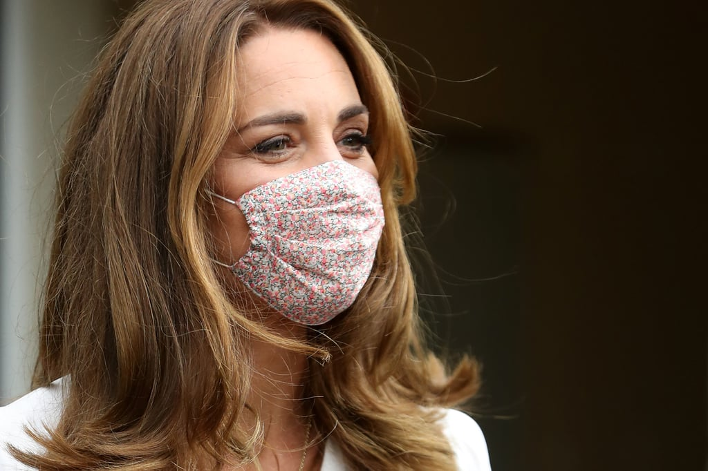 Kate Middleton's Floral Amaia Face Mask August 2020