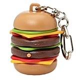 Burger Keychain ($5)