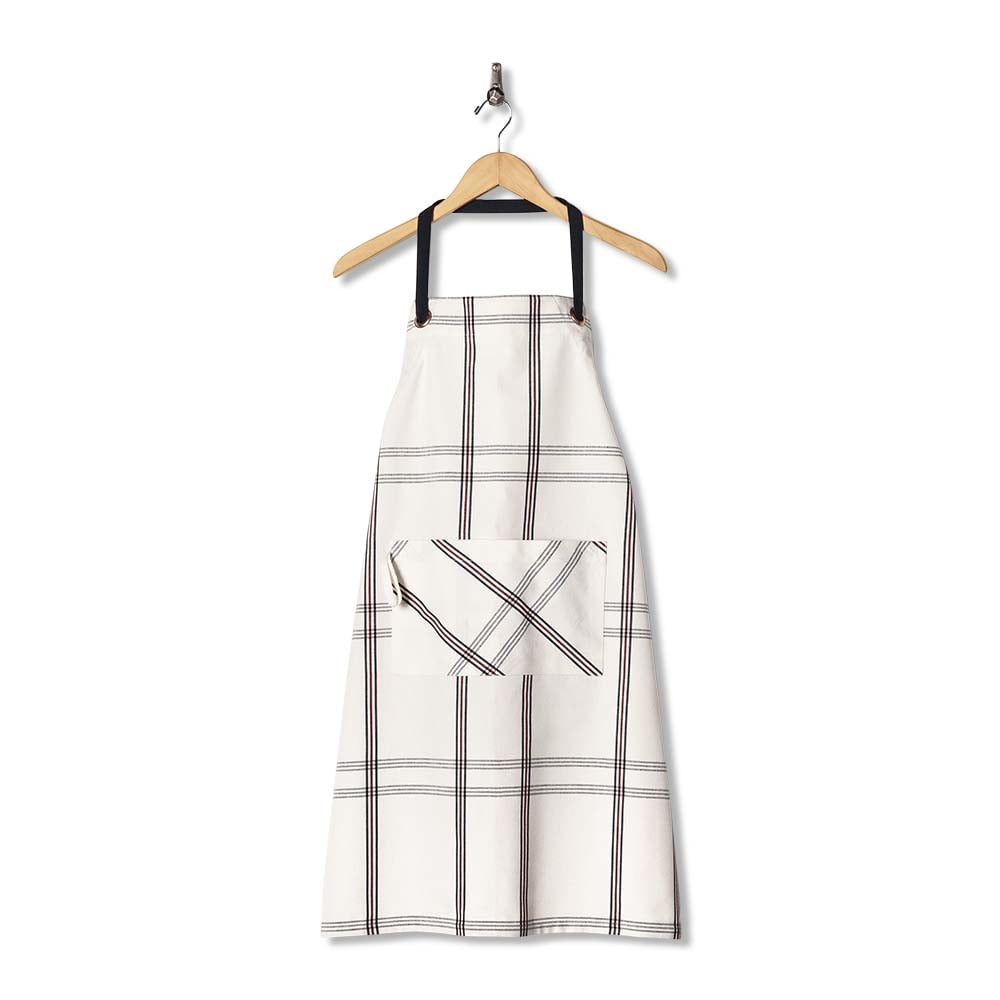 Hearth & Hand with Magnolia Kids Apron and Hearth & Hand with Magnolia Adult Apron in Engineered Stripe ($10-$16)