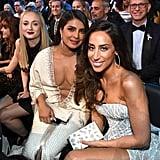 Sophie Turner, Priyanka Chopra, and Danielle Jonas at the 2020 Grammys