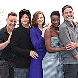 The Walking Dead Cast at Comic-Con 2018