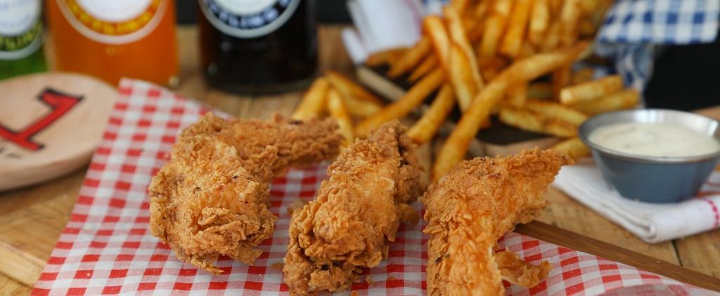 أصابع دجاج الكاجن