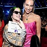 Billie Eilish at the American Music Awards 2019