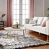 Retro Glam Living Room