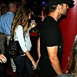 Gisele Bundchen and Tom Brady were together out on the town.