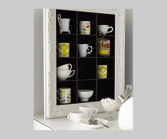 CD Shelves Become Cup Storage