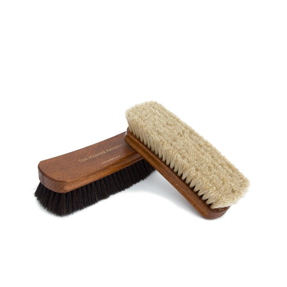 Horsehair Shoe Polishing Brush