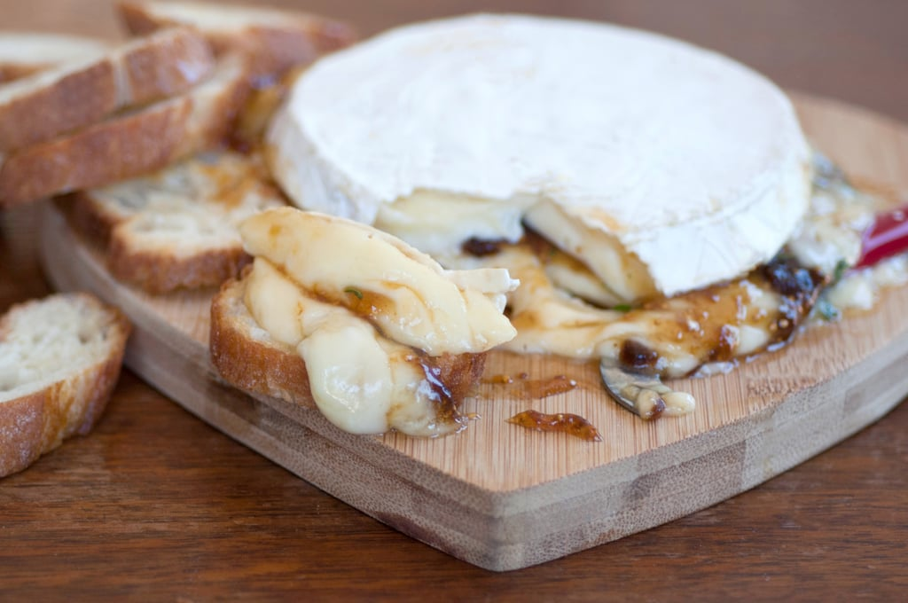 Melted, Stuffed Brie