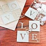 Glass Love Coasters