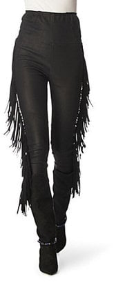 Leather Pants Are a Fall Must Have