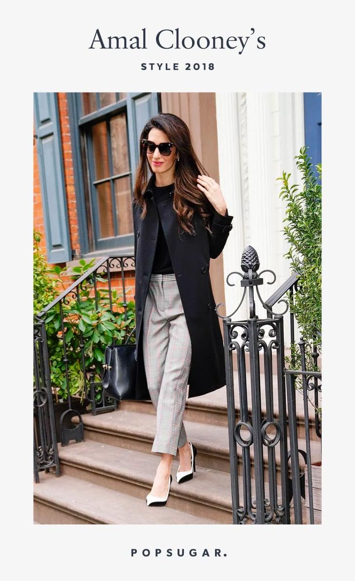 Amal Clooney Style 2018 | POPSUGAR Fashion