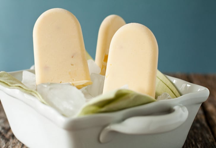 Peaches-and-Cream Popsicles | 14 Yogurt Popsicle Recipes That Will ...
