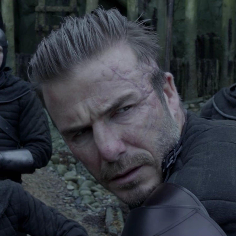 David Beckham in King Arthur Legend of the Sword Video