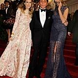 Sarah Jessica Parker, Valentino, and Heidi Klum