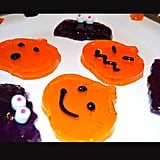 Jell-O Jiggler Jack-O'-Lanterns and Bats