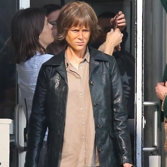 Nicole Kidman on the Set of Destroyer Pictures