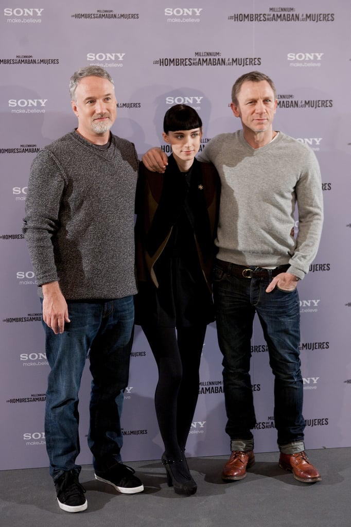 Daniel Craig and Rooney Mara Take Dragon Tattoo to Spain