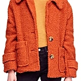Free People So Soft Teddy Coat