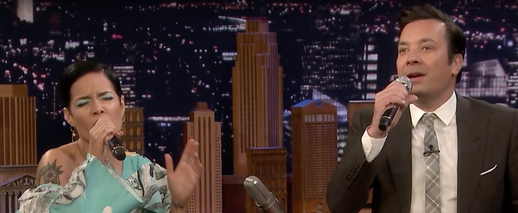 Halsey Sings Google Translated Songs on Jimmy Fallon | Video