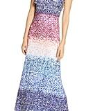 Julia Jordan Ruffle Sleeve Maxi Dress