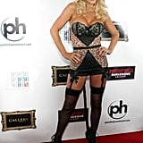 Jenny McCarthy had a Halloween/40th birthday bash in Vegas in 2012, donning a skimpy costume most women half her age couldn't pull off as well as she did!