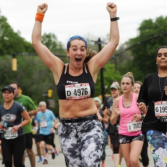Woman Runner's Response to Fat Shaming