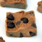 Healthy Chocolate Chip Cookie Dough Fudge