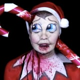 Elf on the Shelf Got a Terrifying Makeover in This Makeup Tutorial