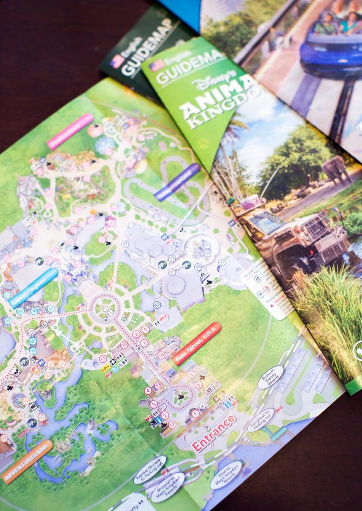 Memorize the Park Map