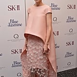Cate Blanchett looked pretty in pink at the Blue Jasmine premiere in NYC.