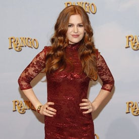 Pictures of Isla Fisher at European Premiere of Rango 2011-02-21 13:35:00