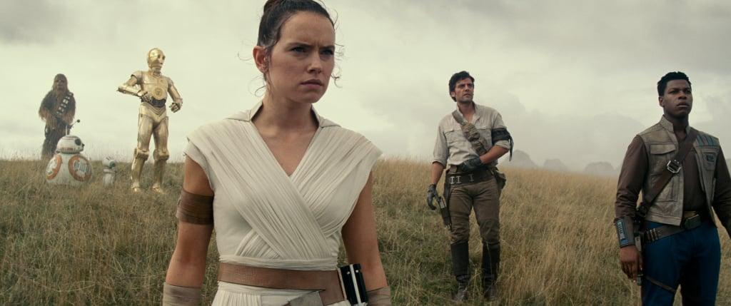 Rey, Finn, & Poe