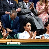 Meghan Markle and Kate Middleton at Wimbledon 2019 Pictures