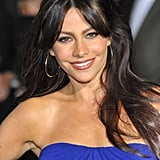 Sofia Vergara's Black Hair Colour