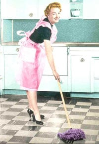 Clean Green:  Mop Your Floors with Vinegar