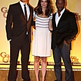 Pictures of Katie Holmes, Josh Duhamel, Blair Underwood
