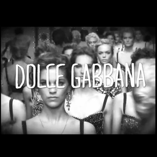 Dolce & Gabbana Spring 2012 Runway Video