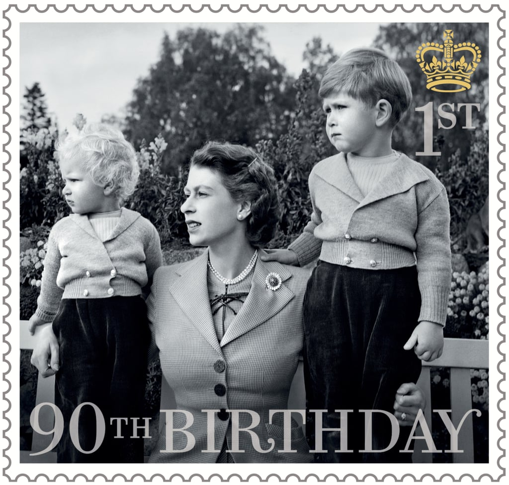 The Queen With Her Children, Prince Charles and Princess Anne, in 1952