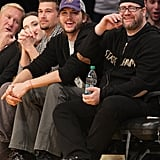 Ashton Kutcher Alex Rodriguez Cindy Crawford Lakers Pictures