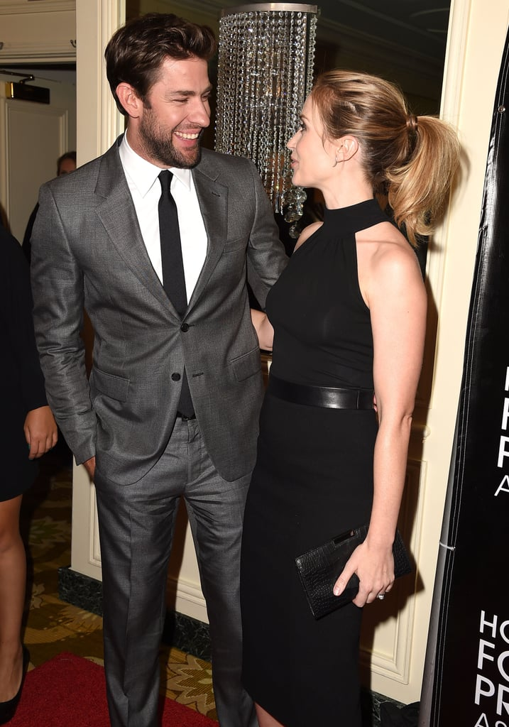 Emily Blunt and John Krasinski Only Have Eyes For Each Other During Sweet Red Carpet Date