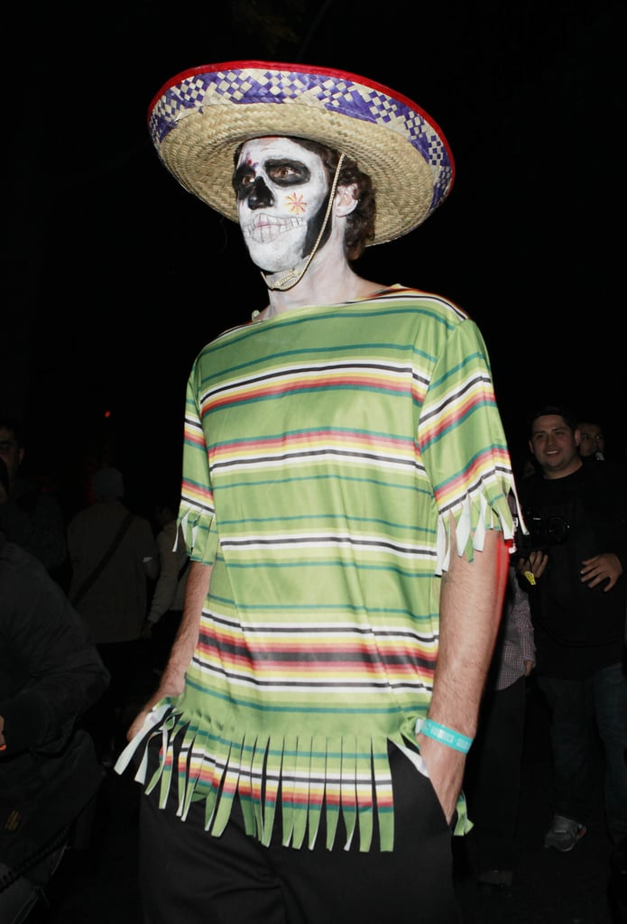Brody Jenner channeled the Day of the Dead vibe for the Casamigos Halloween Party.