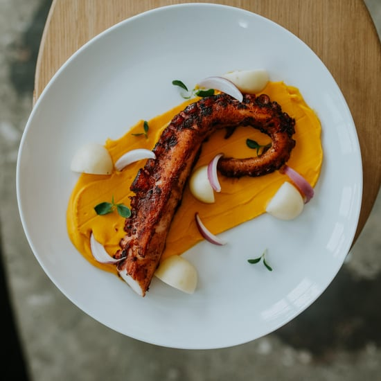 Orange and Balsamic Vinegar Marinated Octopus