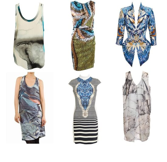 Shopping: Geological Studies And Digital Printing