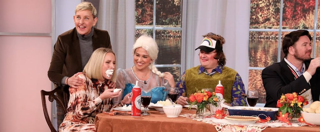 Kristen Bell Joins Thanksgiving on The Ellen DeGeneres Show