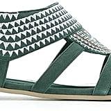Sarah Chofakian embroidered flat sandals