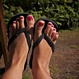 There's opportunity for you and your swollen feet to rock flip-flops every day without any judgment.