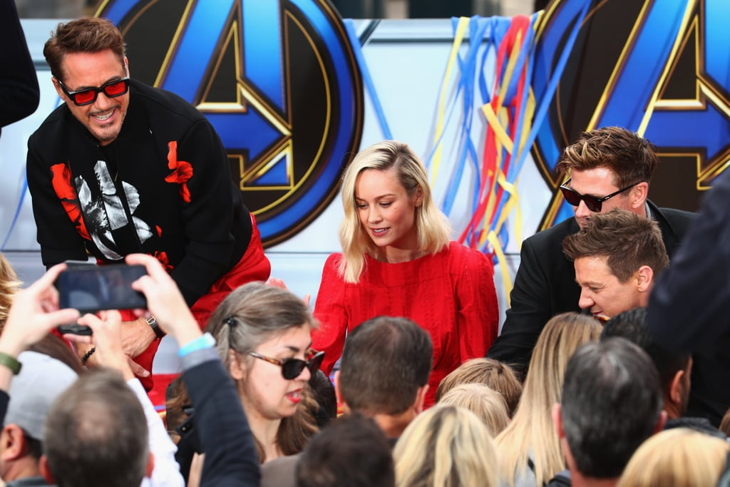 Avengers Cast at Disneyland For Charity Donation April 2019