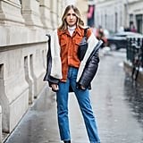 Pair Your Go-To Ankle Boots With a Shearling Coat